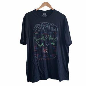 NEW Star Wars black graphic tee size XXL